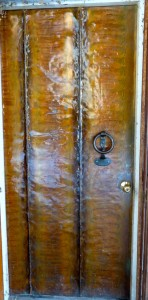 Front copper door
